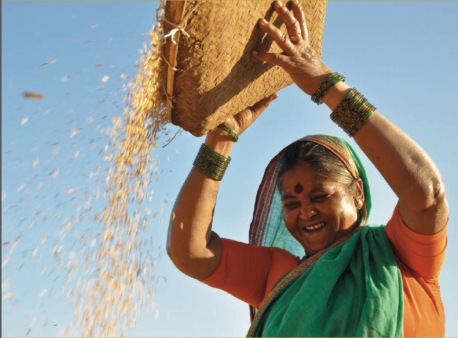 indian-woman-with-grain